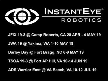 Upcoming InstantEye Robotics Events