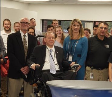 Representatives Trahan, Langevin Tour Raytheon, InstantEye Robotics Facilities in Andover