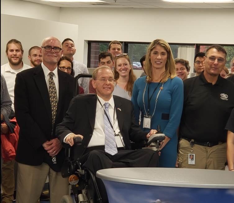 Representatives Trahan, Langevin Tour Raytheon, InstantEye Robotics Facilities in Andover